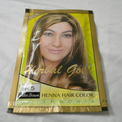 Herbal Gold Henna Hair Color Golden Brown